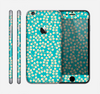 The Blue and Yellow Floral Pattern V43 Skin for the Apple iPhone 6