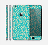 The Blue and Yellow Floral Pattern V43 Skin for the Apple iPhone 6 Plus