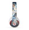 The Blue and Yellow Vivid Fumes Skin for the Beats by Dre Studio (2013+ Version) Headphones
