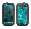 The Blue with Flying Tweety Birds Samsung Galaxy S3 LifeProof Fre Case Skin Set