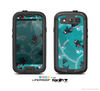 The Blue with Flying Tweety Birds Skin For The Samsung Galaxy S3 LifeProof Case