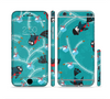 The Blue with Flying Tweety Birds Sectioned Skin Series for the Apple iPhone 6 Plus