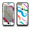 The Bold Colorful Mustache Pattern Apple iPhone 6/6s LifeProof Fre Case Skin Set