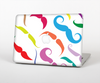 The Bold Colorful Mustache Pattern Skin for the Apple MacBook Pro Retina 15""