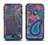 The Bold Colorful Paisley Pattern Apple iPhone 6/6s LifeProof Fre Case Skin Set
