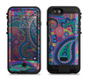 the bold colorful paisley pattern  iPhone 6/6s Plus LifeProof Fre POWER Case Skin Kit