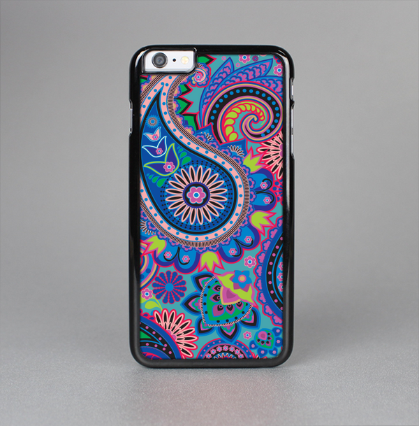 The Bold Colorful Paisley Pattern Skin-Sert Case for the Apple iPhone 6 Plus