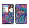 The Bold Colorful Paisley Pattern Skin For The Apple iPod Classic
