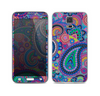 The Bold Colorful Paisley Pattern Skin For the Samsung Galaxy S5