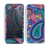 The Bold Colorful Paisley Pattern Skin for the Apple iPhone 5c
