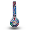 The Bold Colorful Paisley Pattern Skin for the Beats by Dre Mixr Headphones