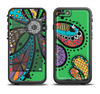 The Bold Paisley Flower Apple iPhone 6/6s LifeProof Fre Case Skin Set