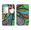 The Bold Paisley Flower Skin For The Apple iPod Classic