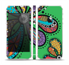 The Bold Paisley Flower Skin Set for the Apple iPhone 5