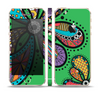 The Bold Paisley Flower Skin Set for the Apple iPhone 5s