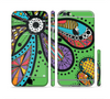 The Bold Paisley Flower Sectioned Skin Series for the Apple iPhone 6