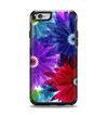 The Boldly Colored Flowers Apple iPhone 6 Otterbox Symmetry Case Skin Set