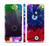 The Boldly Colored Flowers Skin Set for the Apple iPhone 5s