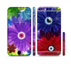The Boldly Colored Flowers Sectioned Skin Series for the Apple iPhone 6