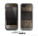 The Bolted Rustic Metal Sheets Skin for the Apple iPhone 5c LifeProof Case