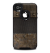 The Bolted Rustic Metal Sheets Skin for the iPhone 4-4s OtterBox Commuter Case