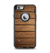 The Bolted Wood Planks Apple iPhone 6 Otterbox Defender Case Skin Set