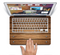 "The Bolted Wood Planks Skin Set for the Apple MacBook Pro 15"" with Retina Display"