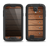 The Bolted Wood Planks Samsung Galaxy S4 LifeProof Fre Case Skin Set