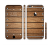 The Bolted Wood Planks Sectioned Skin Series for the Apple iPhone 6 Plus