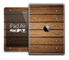 The Bolted Wood Planks Skin for the iPad Air