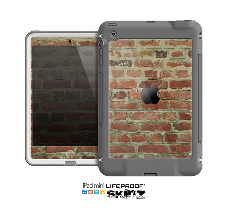 The Brick Wall Skin for the Apple iPad Mini LifeProof Case
