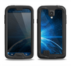 The Bright Blue Earth Light Flash Samsung Galaxy S4 LifeProof Fre Case Skin Set