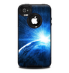 The Bright Blue Earth Light Flash Skin for the iPhone 4-4s OtterBox Commuter Case