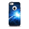 The Bright Blue Earth Light Flash Skin for the iPhone 5c OtterBox Commuter Case