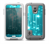 The Bright Blue Glistening Streaks Skin Samsung Galaxy S5 frē LifeProof Case