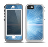 The Bright Blue Light Skin for the iPhone 5-5s OtterBox Preserver WaterProof Case