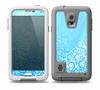 The Bright Blue Vector Spiral Pattern Skin Samsung Galaxy S5 frē LifeProof Case
