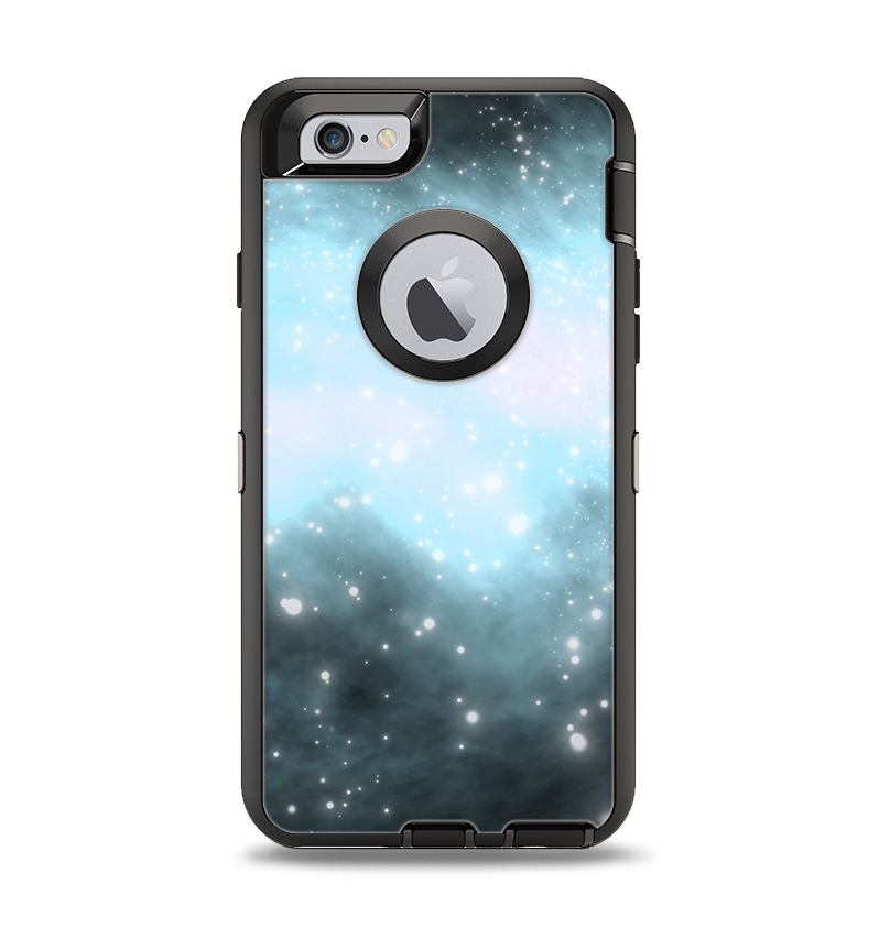 timeless design 5130c 32cb7 The Bright Blue Vivid Galaxy Apple iPhone 6 Otterbox Defender Case Skin Set
