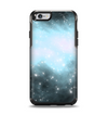 The Bright Blue Vivid Galaxy Apple iPhone 6 Otterbox Symmetry Case Skin Set