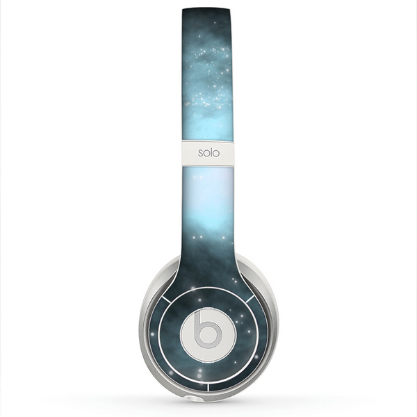 The Bright Blue Vivid Galaxy Skin For The Beats By Dre Solo 2 Headphon Designskinz