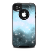 The Bright Blue Vivid Galaxy Skin for the iPhone 4-4s OtterBox Commuter Case