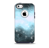 The Bright Blue Vivid Galaxy Skin for the iPhone 5c OtterBox Commuter Case