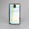 The Bright Blue and Yellow Lines Skin-Sert Case for the Samsung Galaxy Note 3