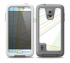 The Bright Blue and Yellow Lines Skin Samsung Galaxy S5 frē LifeProof Case