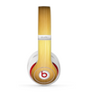 The Bright Brushed Gold Surface Skin for the Beats by Dre Studio (2013+ Version) Headphones
