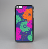 The Bright Colored Cartoon Flowers Skin-Sert Case for the Apple iPhone 6 Plus
