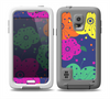 The Bright Colored Cartoon Flowers Skin for the Samsung Galaxy S5 frē LifeProof Case