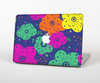 The Bright Colored Cartoon Flowers Skin for the Apple MacBook Pro Retina 13""