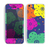 The Bright Colored Cartoon Flowers Skin for the Apple iPhone 5c