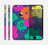 The Bright Colored Cartoon Flowers Skin for the Apple iPhone 6